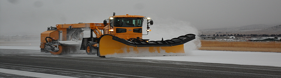 Oshkosh Plow Broom