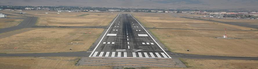 Runway 27 Approach