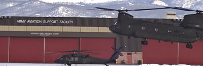 Photo of the Army Aviation Support Facility