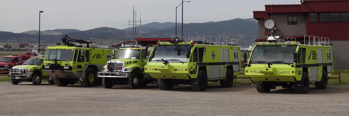 Aircraft Rescue and Firefighting Truck Fleet