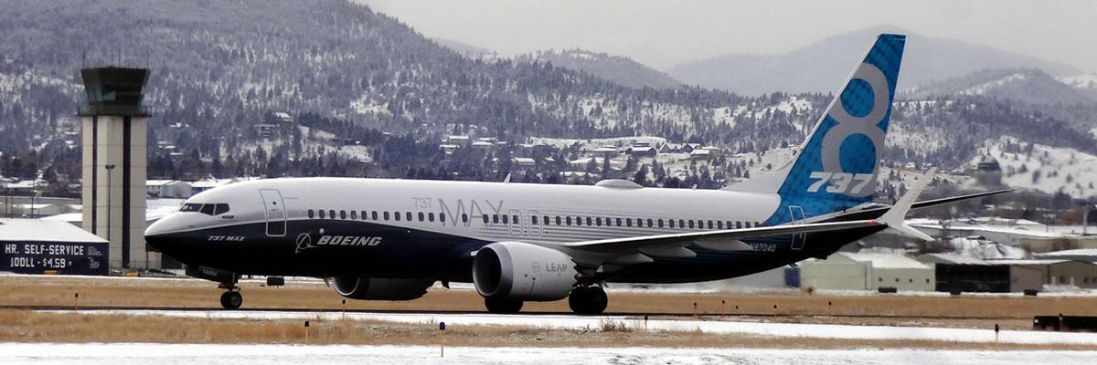 Boeing 737 Max Test Flight