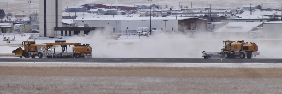 Helena Regional Airport Runway Brooms