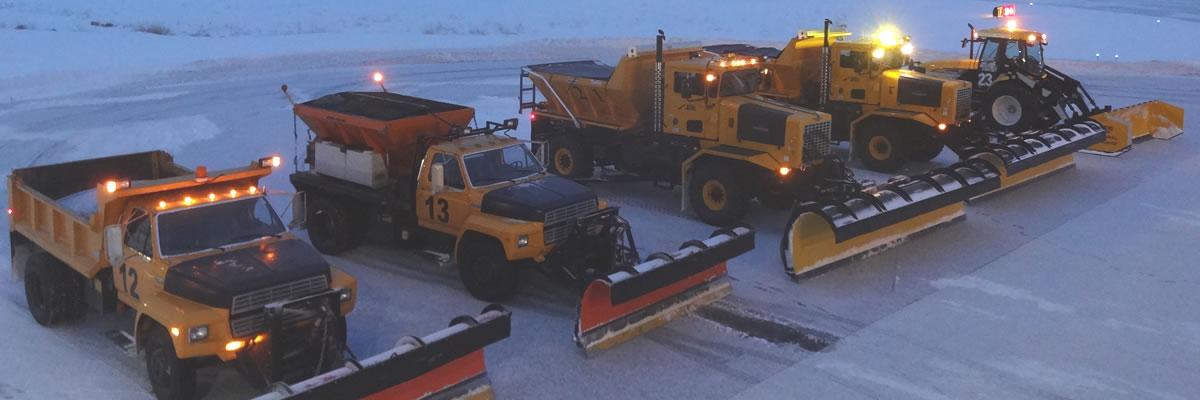 Helena Regional Airport Snow Plows