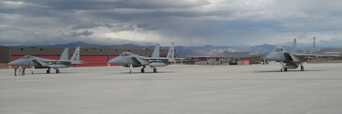 Montana Air National Guard F-15s