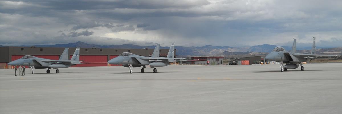 Montana Air National Guard F-15s
