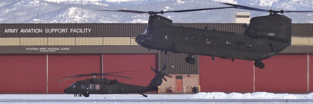 Montana Army Air National Guard Helicopters