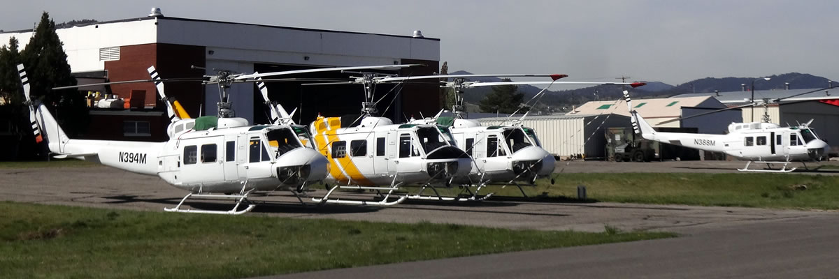 Montana Department of Natural Resources and Conservation Helicopters