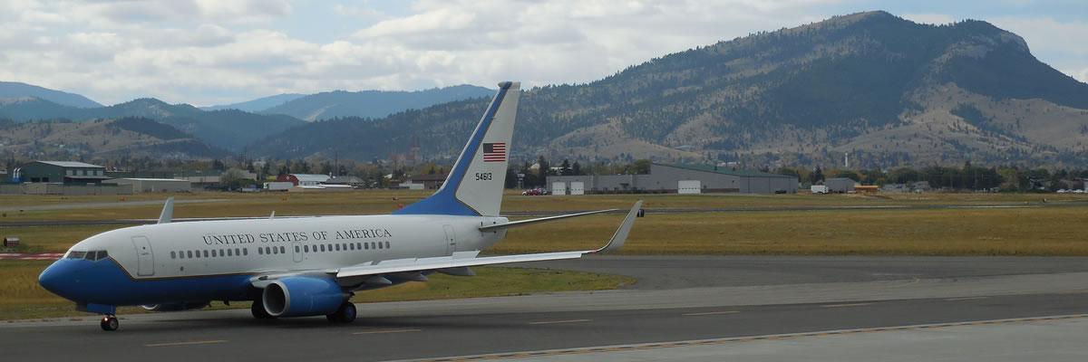 U.S. Government Jet